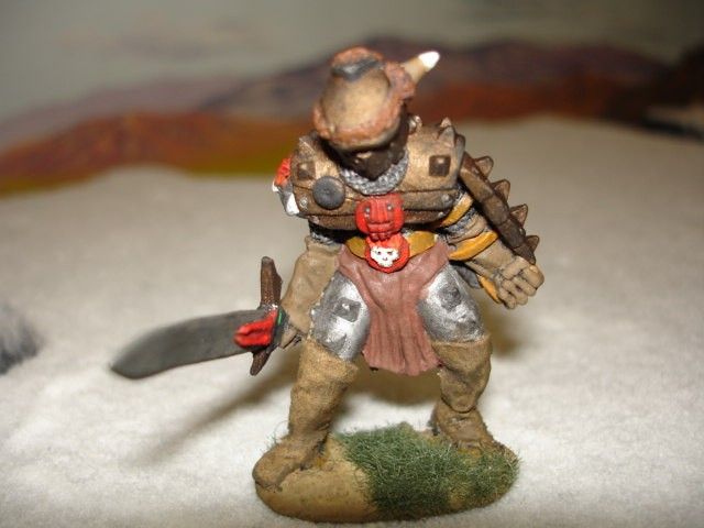 Armored Giant painted miniature