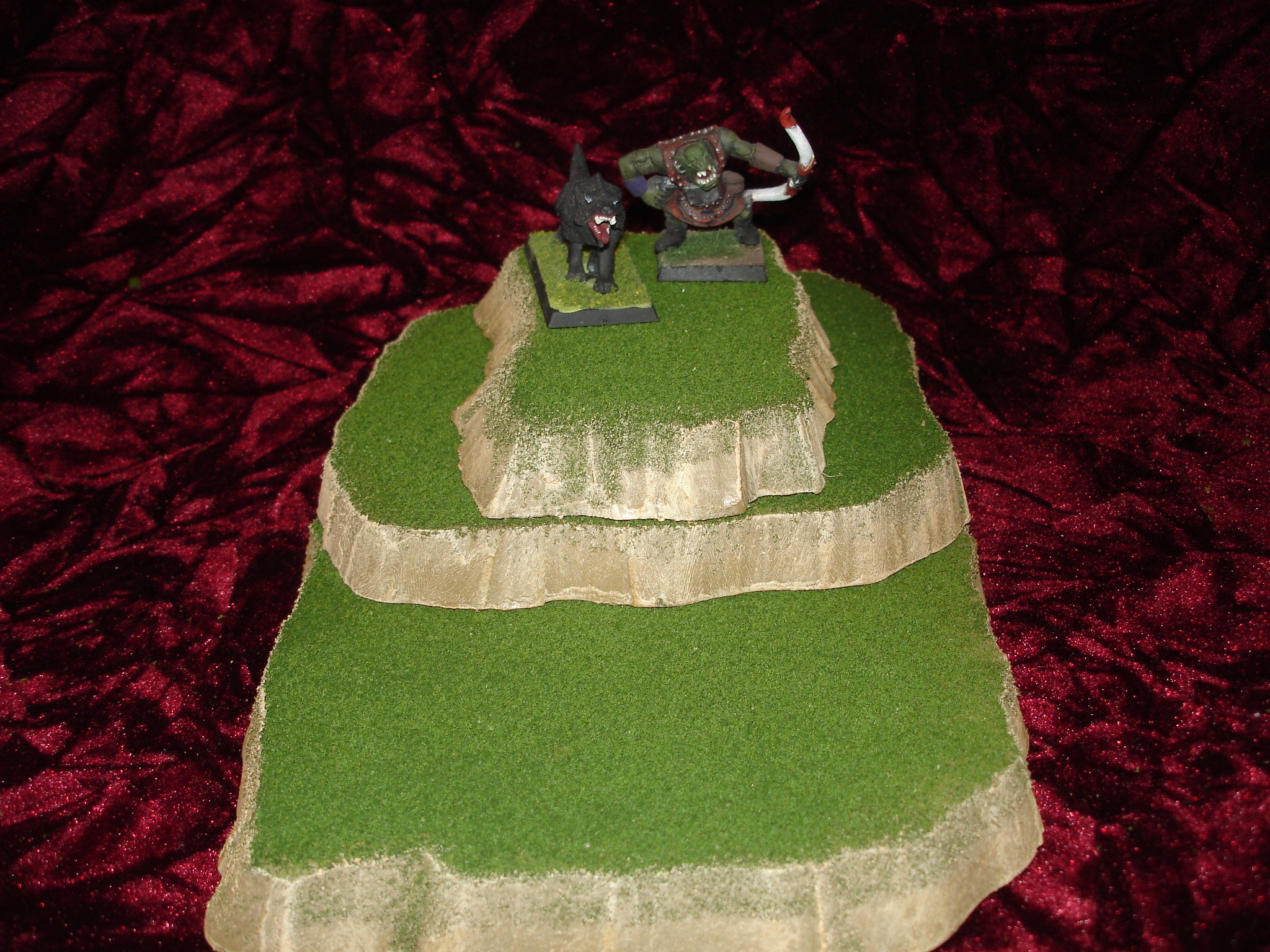 3 piece stackable wargame terrain hills set B224