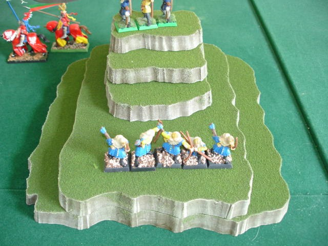 5 piece stackable wargame terrain hills set CI
