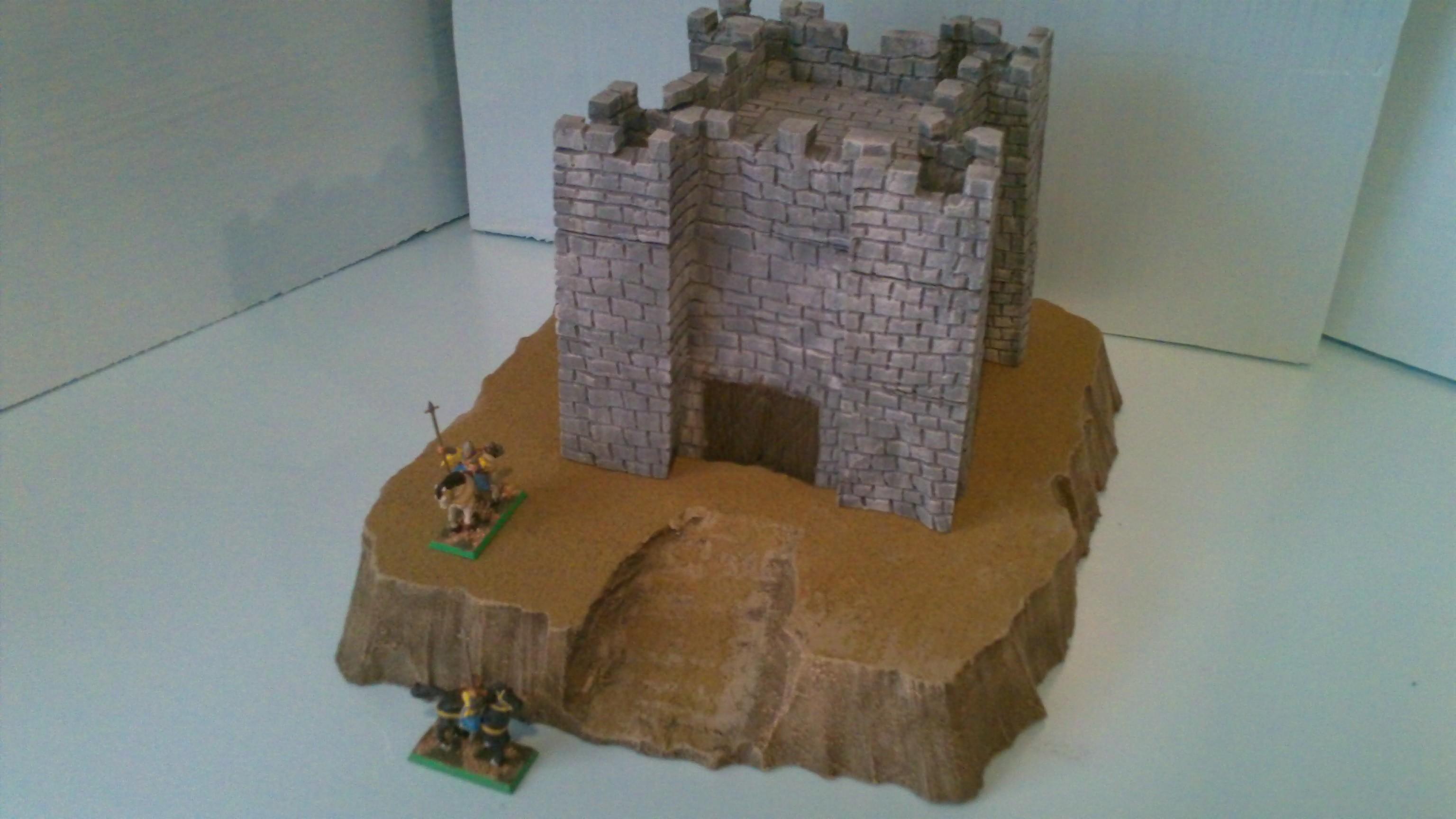 Wargame Terrain castle image Hazeknight.com