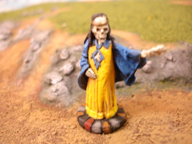 Lich painted miniature