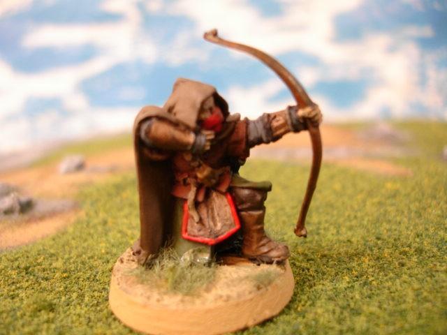 Ranger Kneeling painted miniature