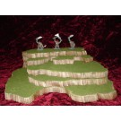5 piece stackable wargame terrain hills set C51-5