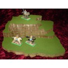 6 piece stackable wargame terrain hills set D424