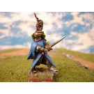 Knight on foot painted miniature