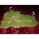 4 piece stackable wargame terrain hills set W4
