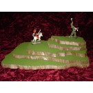 5 piece stackable wargame terrain hills set WO423-5